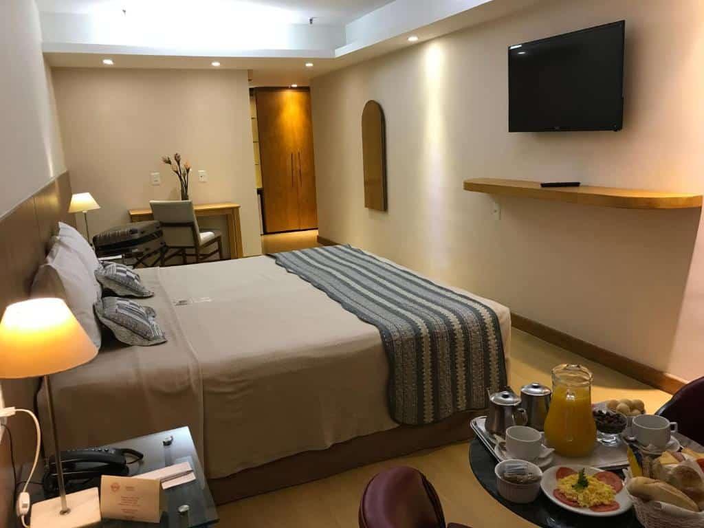 quarto do South American Copacabana Hotel