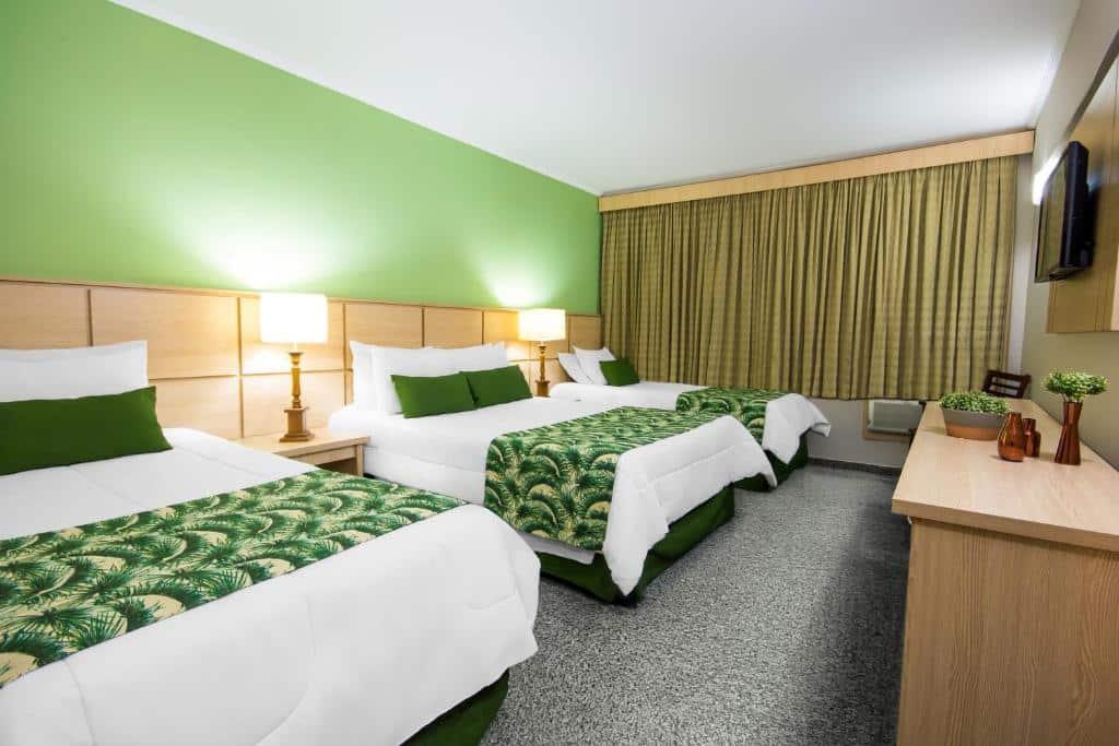 quarto do Thermas All Inclusive Resort Poços de Caldas