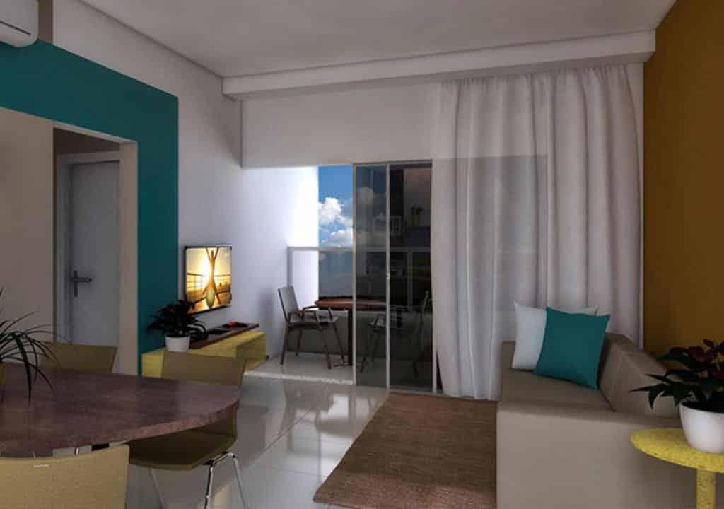 flat do Enjoy Solar das Águas Park Resort