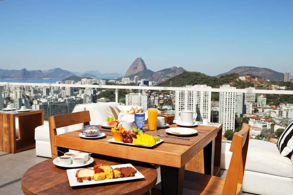 Uma das pousadas de luxo no Rio de Janeiro