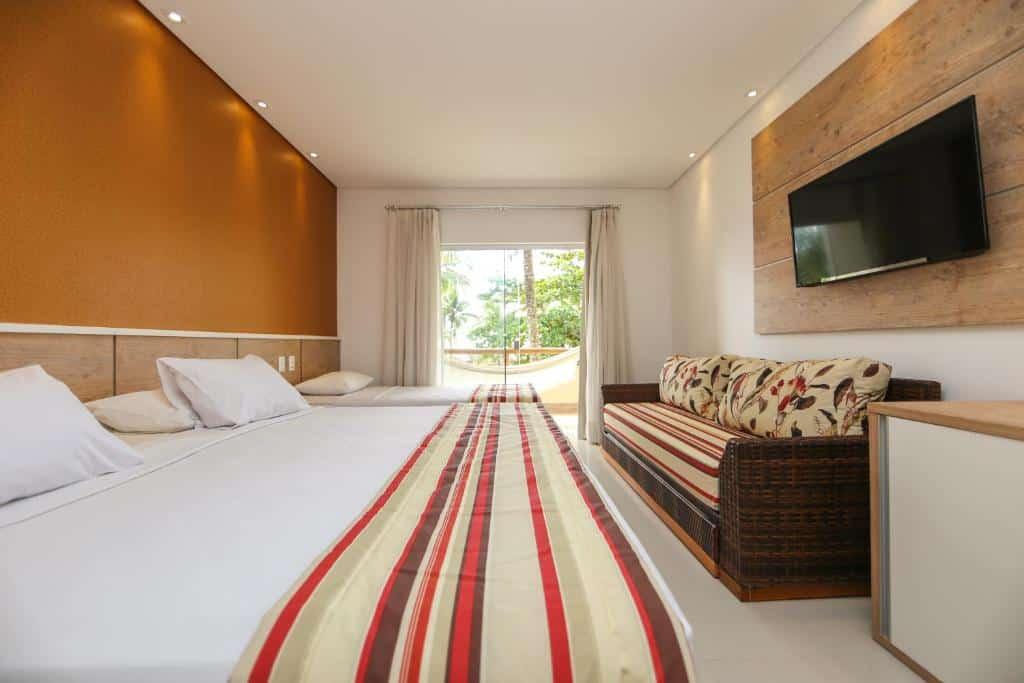 quarto do Cana Brava All Inclusive Resort