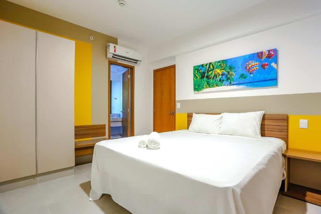 quarto do Enjoy Olimpia Park Resort