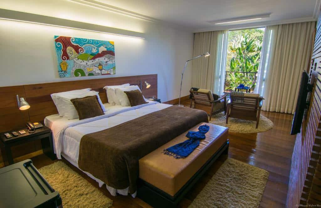 suite do Garden Hill Hotel e Golfe