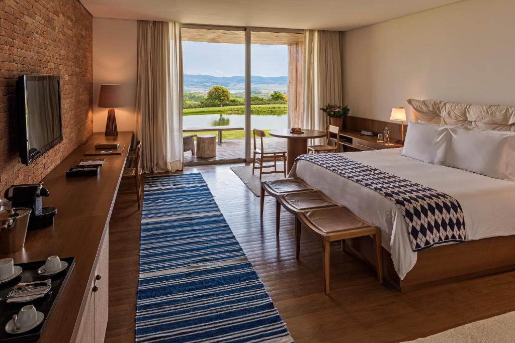 suíte do Hotel Fasano Boa Vista