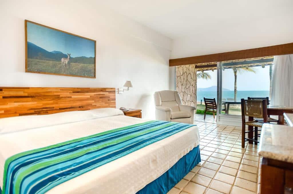 suíte do Hotel Portobello Resort & Safari
