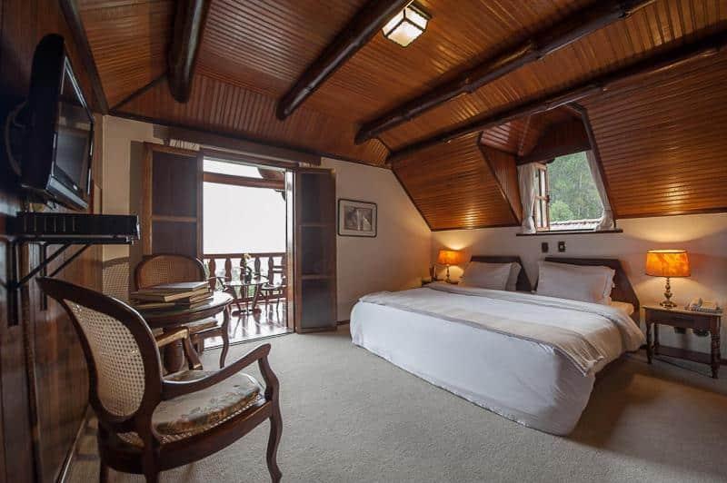 quarto do Hotel Rosa dos Ventos