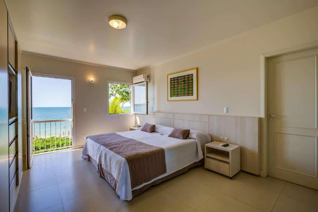 quarto do Hotel Vila do Farol
