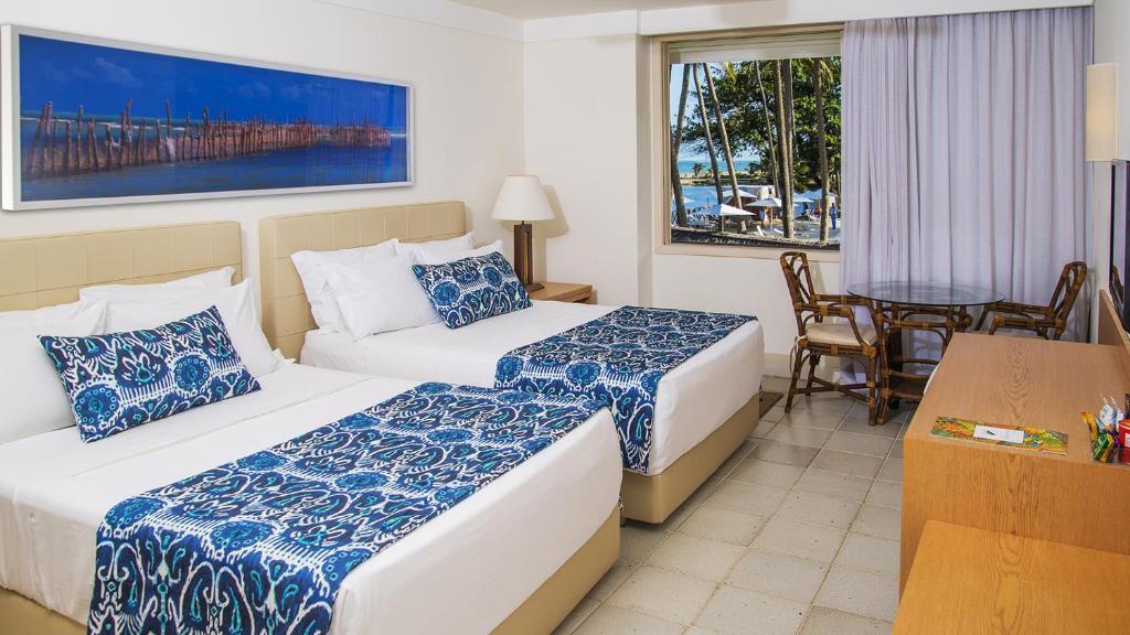 suíte do Jatiuca Hotel & Resort