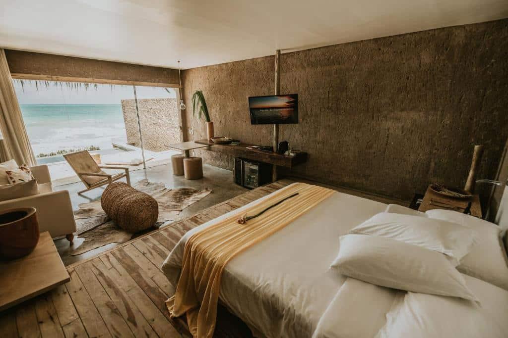 quarto do Kenoa Exclusive Beach Spa & Resort
