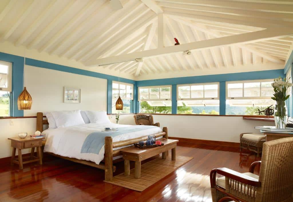 suíte no resort Lake Vilas Charm Hotel em são paulo