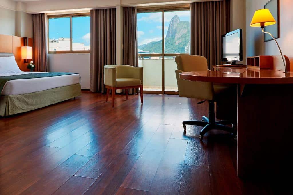 suite do Mercure Rio de Janeiro Botafogo Mourisco