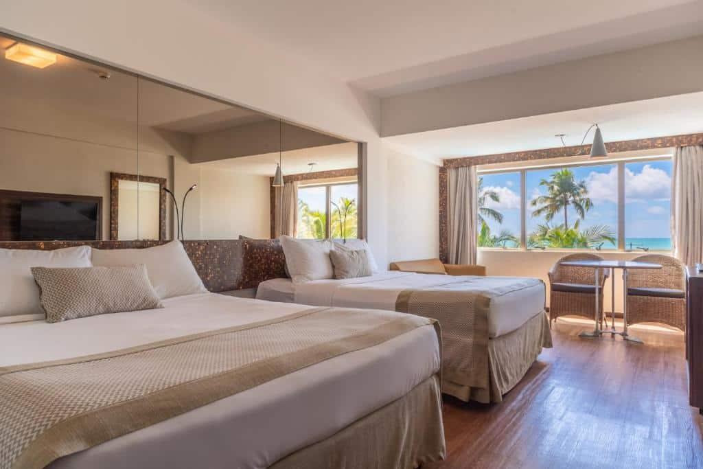 suíte do Ritz Lagoa da Anta Hotel & SPA