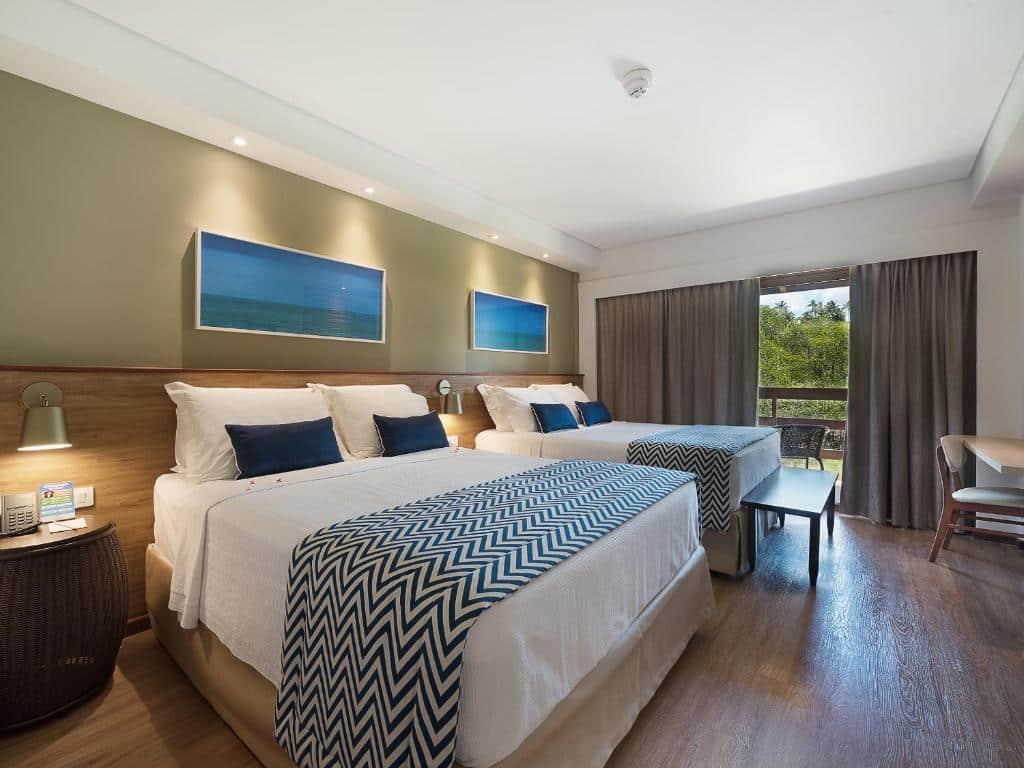 suíte do Salinas Maragogi All Inclusive Resort