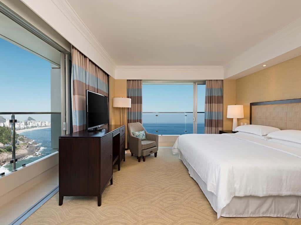 suite do Sheraton Grand Rio Hotel & Resort