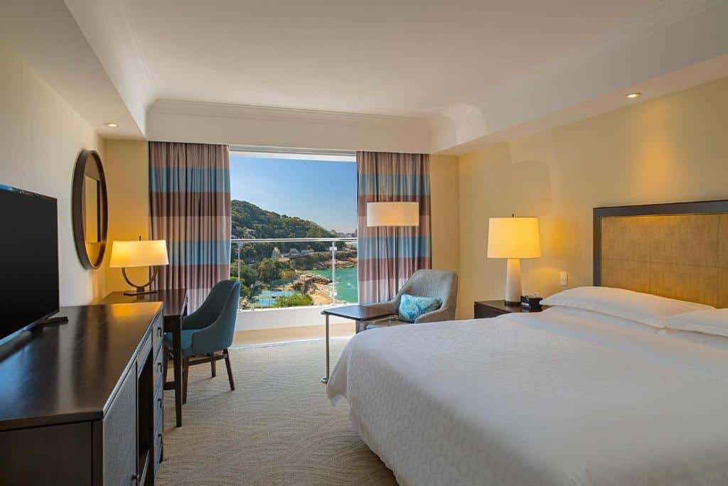 suíte do Sheraton Grand Rio Hotel & Resort