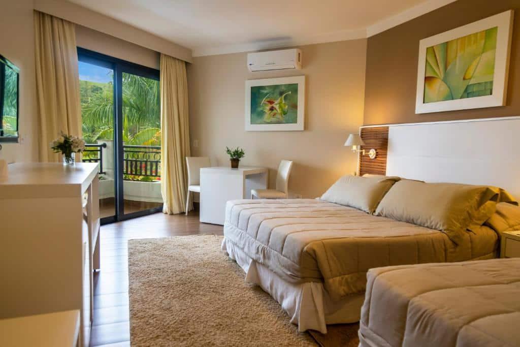 suite do Vale Suíço Resort