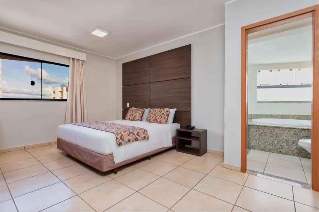 quarto do Wyndham Olímpia Royal Hotels