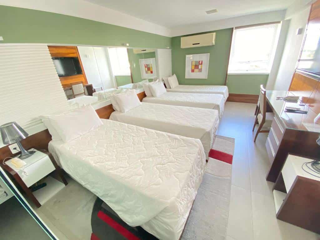 suite do TRYP by Wyndham Rio de Janeiro Barra Parque Olímpico nos hoteis na barra da tijuca