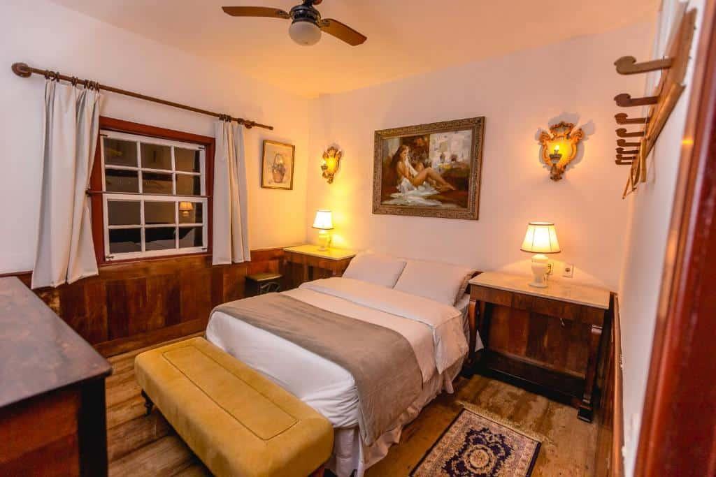 Um dos hotéis fazenda em Minas Gerais