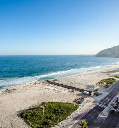 vista da Praia Ipanema Hotel