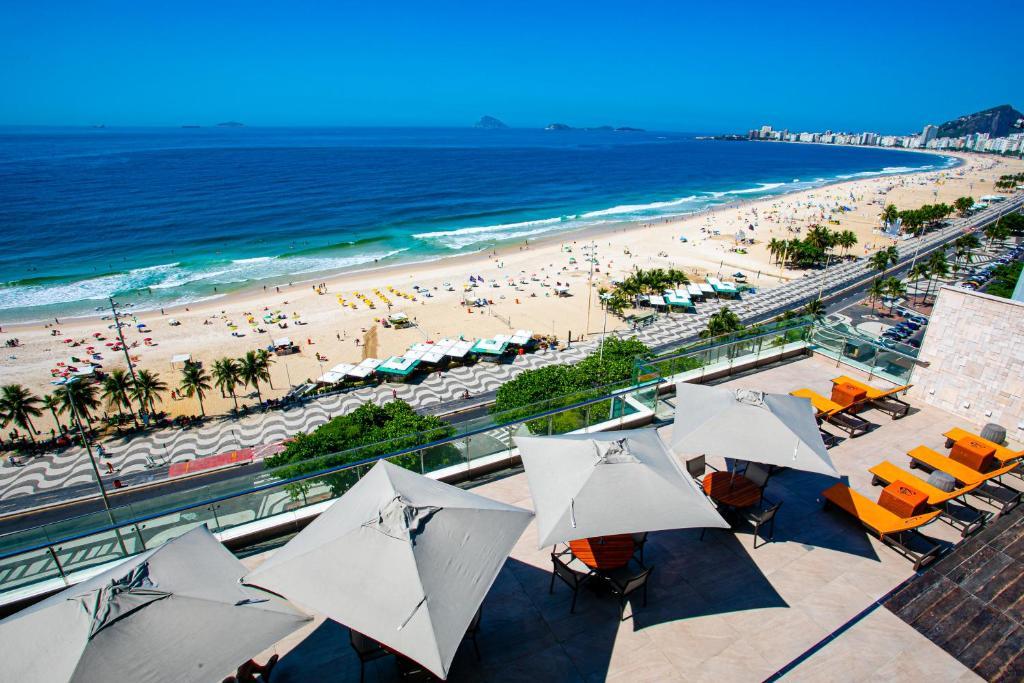 onde ficar no Arena Leme Hotel no RIo de Janeiro