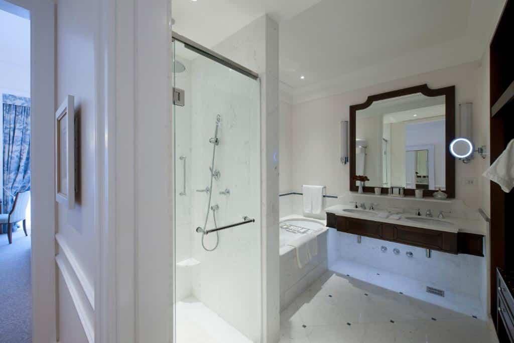 banheiro do Copacabana Palace
