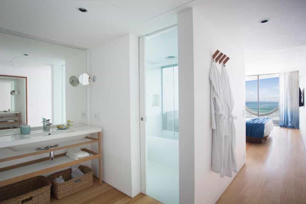 banheiro do Hotel Arpoador