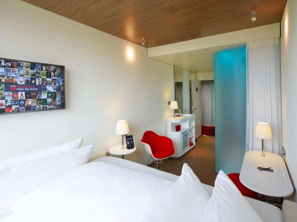 Um dos hotéis perto do aeroporto de Paris