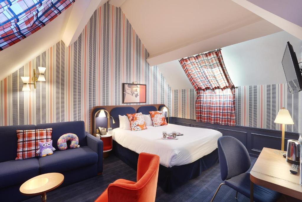 Um dos hotéis perto da Disney Paris