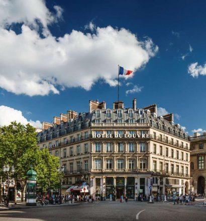 Fachada do Hôtel Du Louvre - In the Unbound Collection by Hyatt, um dos hotéis perto do Louvre em Paris