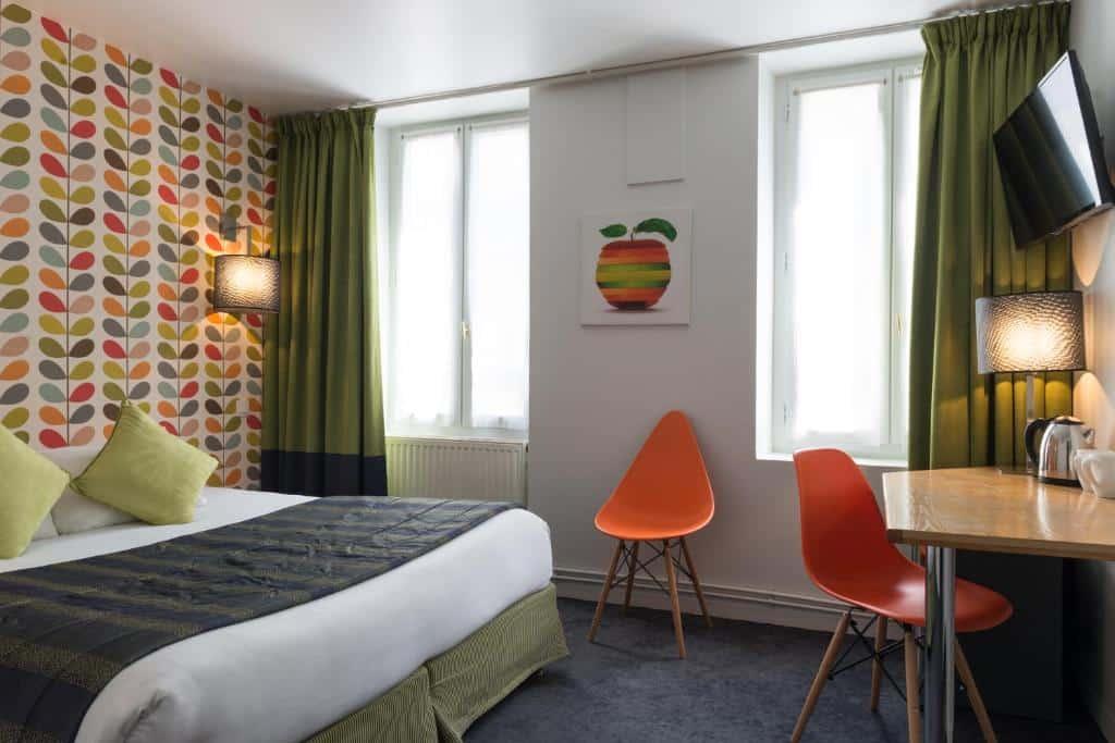 Um dos hotéis baratos em Paris