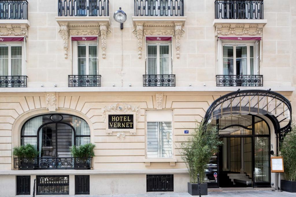 Um dos hotéis perto da Champs-Elysées em Paris