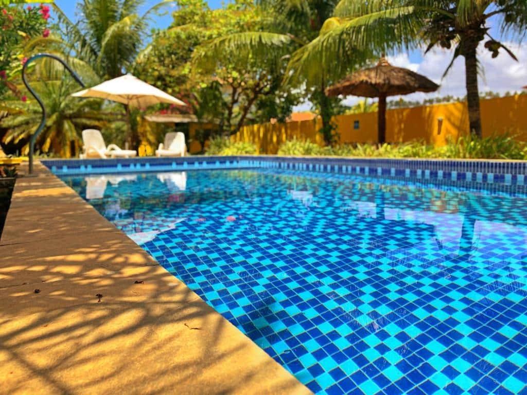 piscina da Pousada Costeira da Barra em Maragogi