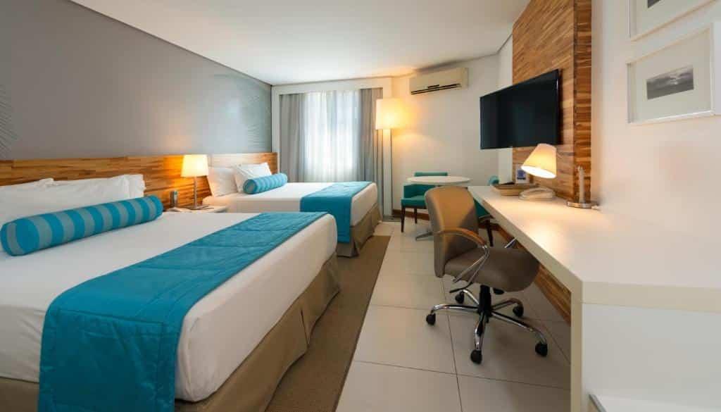 quarto do hotel Best Western Premier Maceió