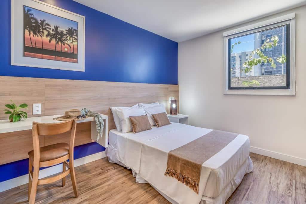 quarto do Cais da Praia Hotel