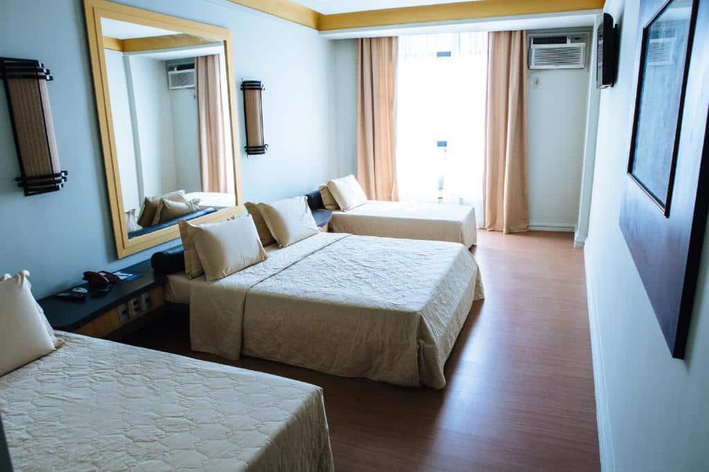 quarto do Diamond Hotel