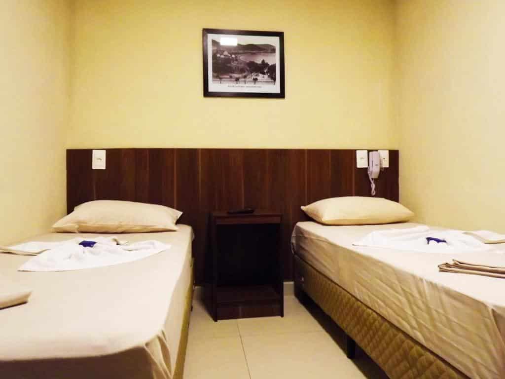 quarto do Downtown Santana Hotel