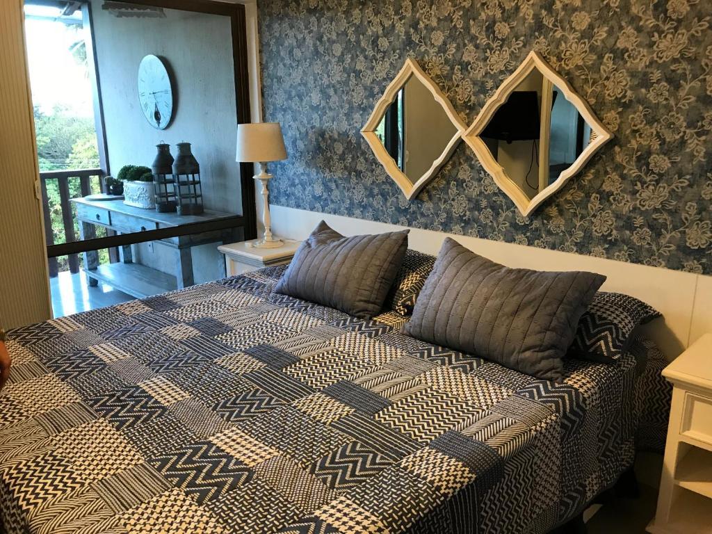 quarto do Flats Nannai Residence Vilas