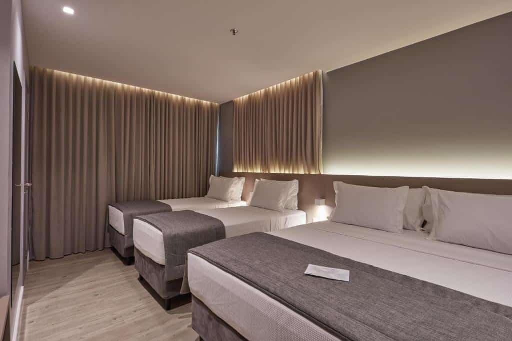 quarto do Flix Hotel