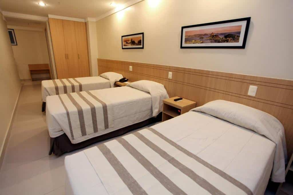 quarto do Fluminense Hotel
