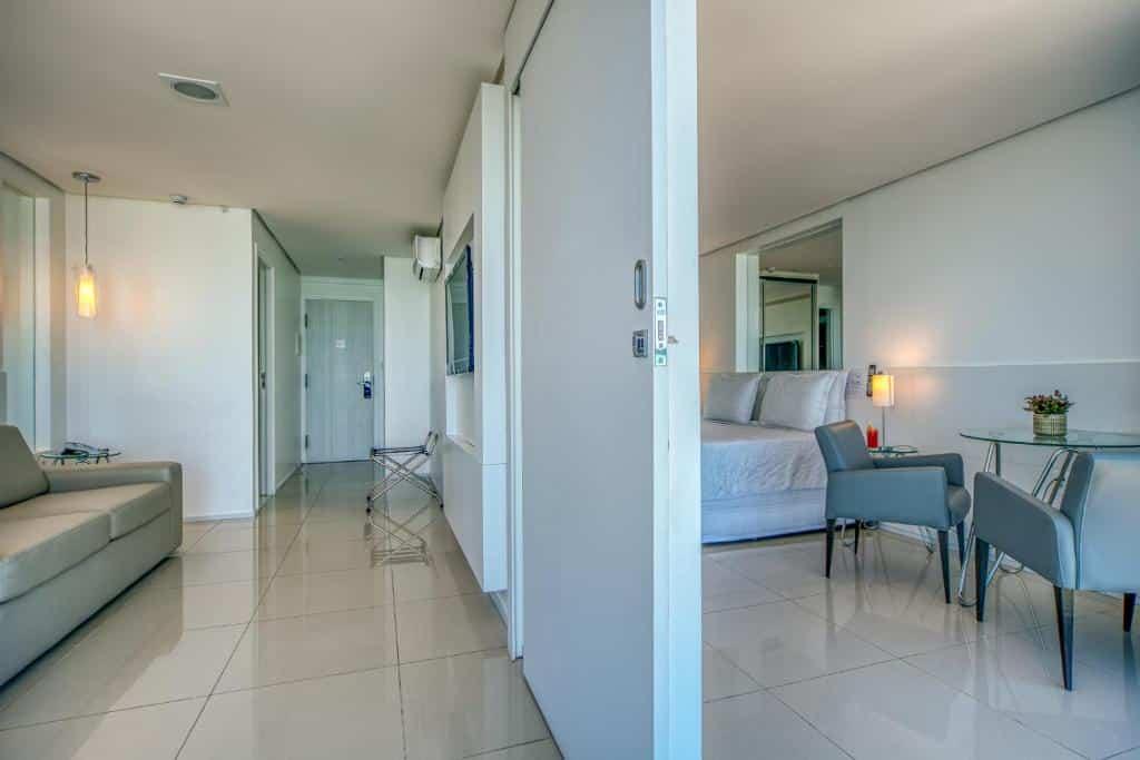 quarto do Hotel Brisa Praia