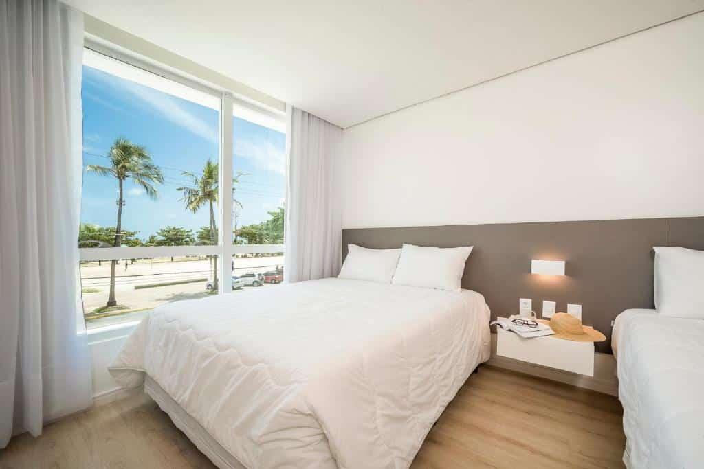 suíte do Hotel Praia Bonita Jangadeiros