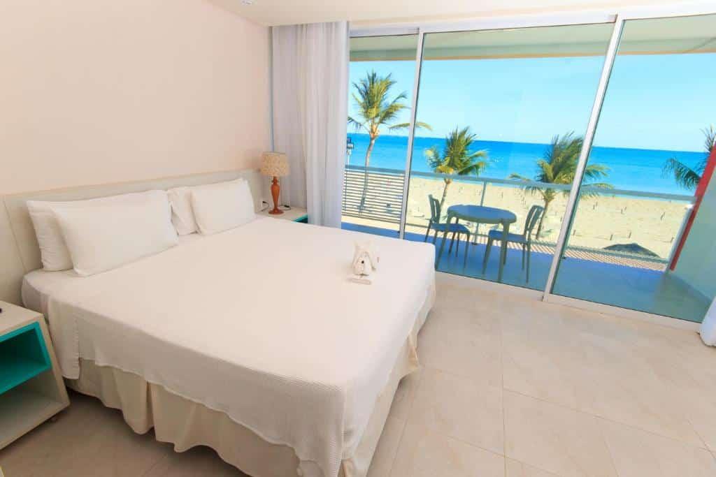 quarto do Hotel Praia Dourada