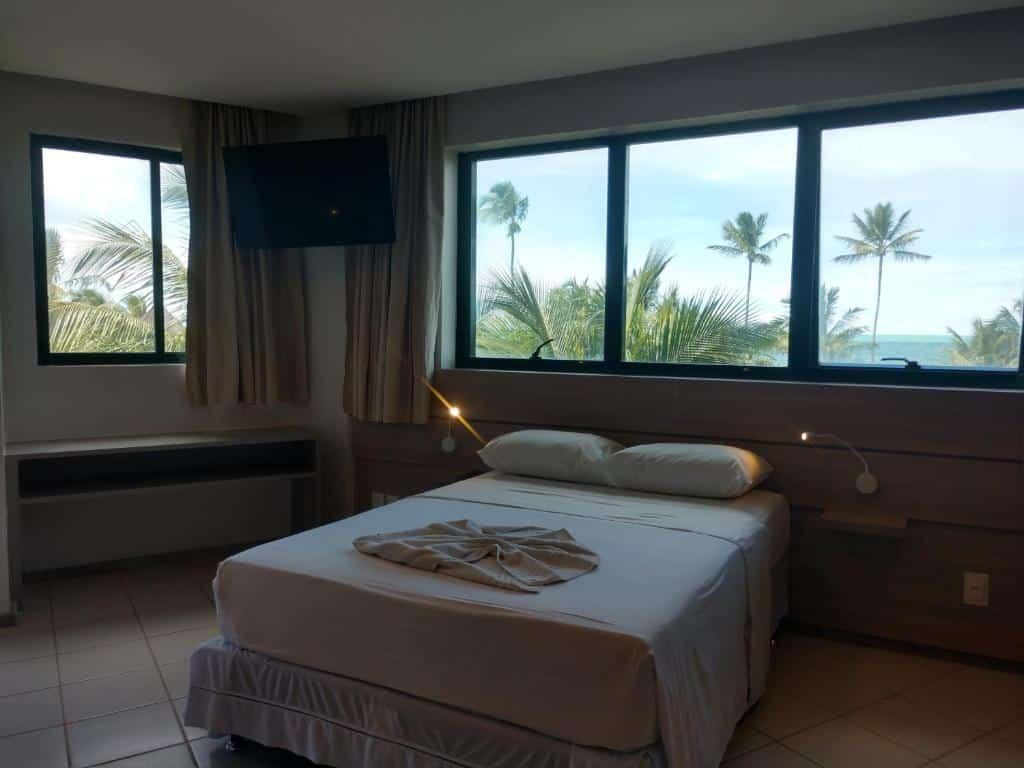 quarto do Marulhos Resort - Stúdios Temporada