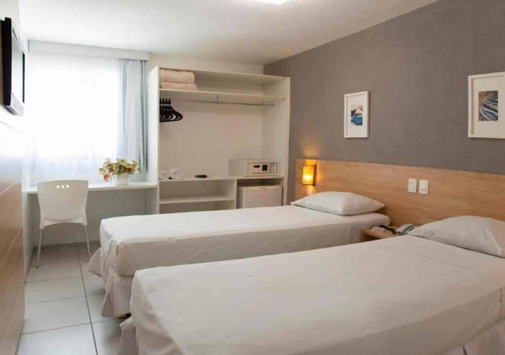 quarto do Hotel Porto Maceió