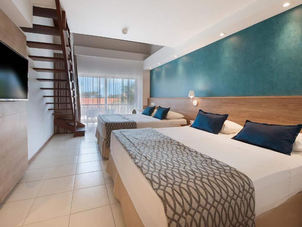 quarto do Salinas Maceio All Inclusive Resort