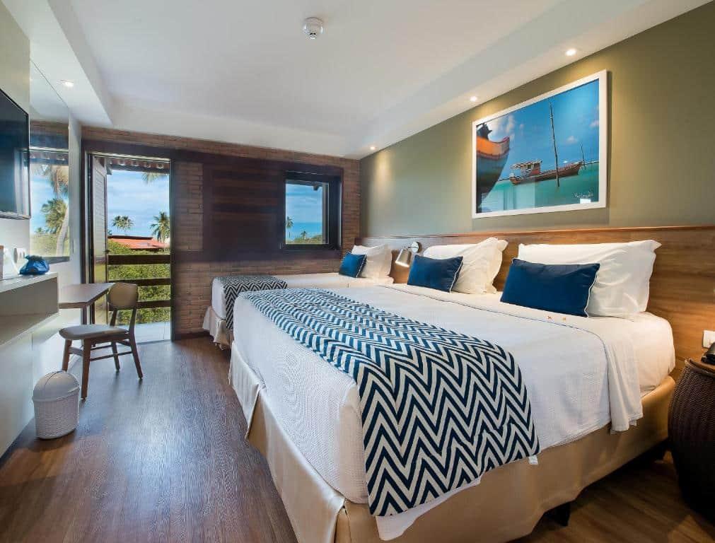 quarto do Salinas Maragogi Resort