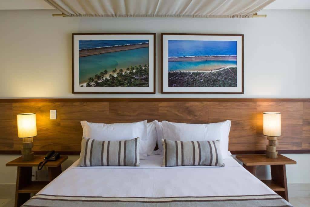 suíte do Samoa Beach Resort