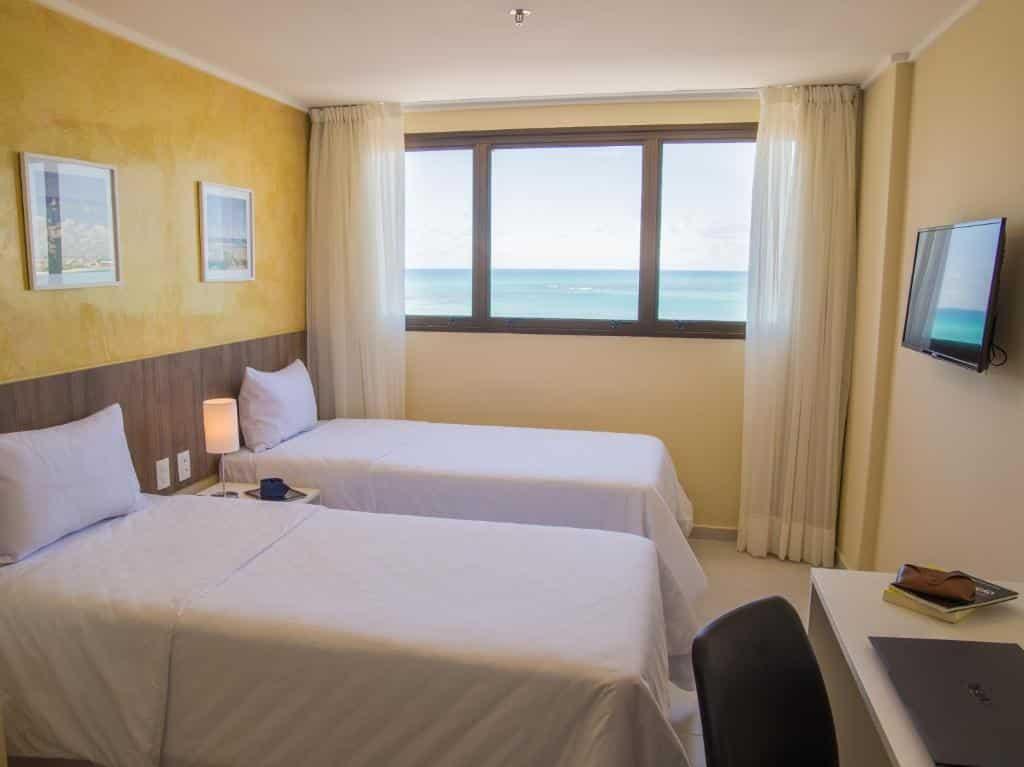 quarto do Soft Inn Maceió Ponta Verde