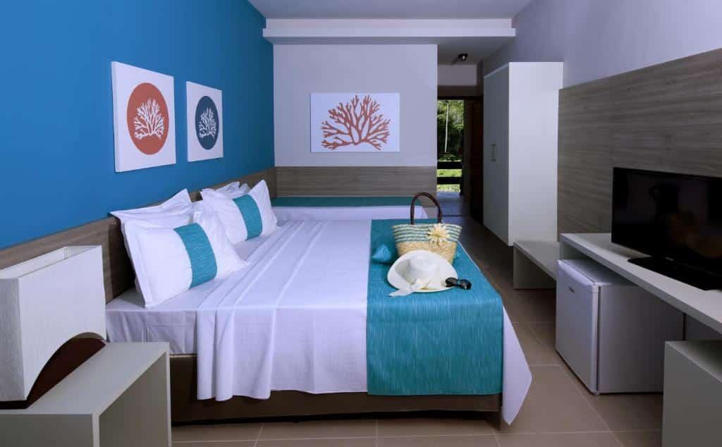 quarto do Tabaobí Smart Hotel